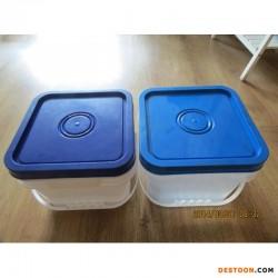 龙口恒信塑料8升塑料桶方桶食品桶收纳箱桌面垃圾桶鱼桶食品级
