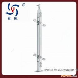 北京思远生产不锈钢楼梯立柱不锈钢扶手不锈钢栏杆立柱图片