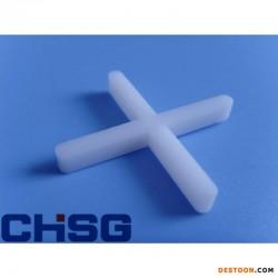 瓷砖定位塑料加厚奶白十字架
