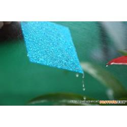 西安PC耐力板价格 西安颗粒板厂家 板 采光板 雨棚 车棚板 蓝色颗粒板