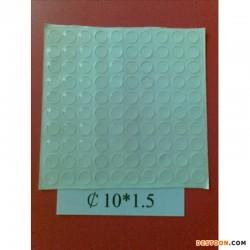 深圳鸿昌透明玻璃防滑胶垫