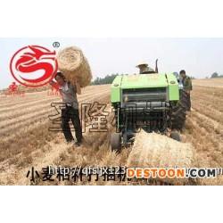高效率 高产量的行走式小麦秸秆打捆机