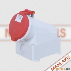 【原装正品】TYP:1557 5芯32A 山东 青岛工业插座 防水插座 航空插座