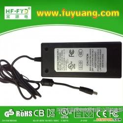 深圳市富源电专业生产热销新款67.2V2A独轮车充电器铅酸锂电池充电器
