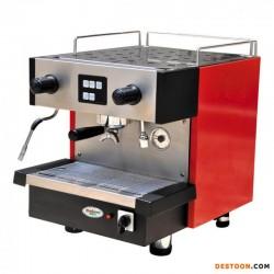 广州生产意大利式双头半自动咖啡机