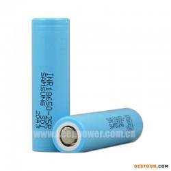 三星18650-25R 2500mah 全新原装进口锂电池