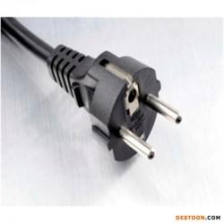 Europe power cord plug
