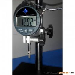 水晶头网络线电话电线材金片深度测试仪深度计高度计厚度计