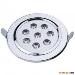 中山科派LED大功率7W天花射灯
