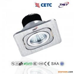同辉电子光电LED格栅灯COB斗胆灯高品质高亮筒灯