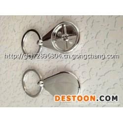 厂家专业生产锌合金金属钥匙扣图片