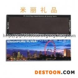 厂家【低价促销】120*50MM规格长方形磁性冰箱贴