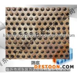 65锰钢耐磨筛底 外贸出口筛片