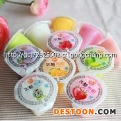 韩国优利佳 优酪布町果冻 水果味布丁 小盒多种口味 整箱5000g图片