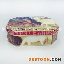 厂家供应高品质马口铁盒 铁皮盒储物盒 收纳盒  铁盒批发