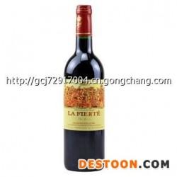 法国拉菲特干红葡萄酒12度750ml