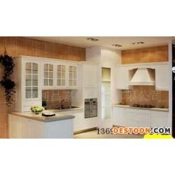 吸塑门板人造石台面整体橱柜/整体厨房