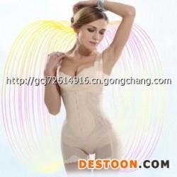 无扣超薄蚕丝蛋白连体衣 美体 塑身瘦身内衣