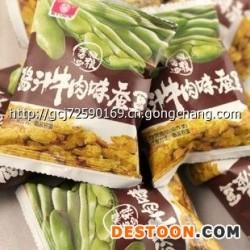 甘源酱汁牛肉味蚕豆五谷粗粮  咸香美味零食春游必备15g小包装