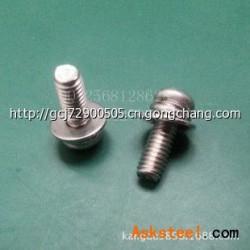 大量供应 304不锈钢圆头组合螺丝 不锈钢螺丝