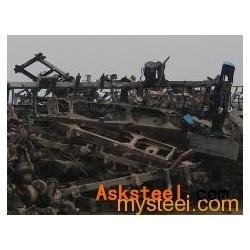 大量现货供应汽车拆解废钢铁