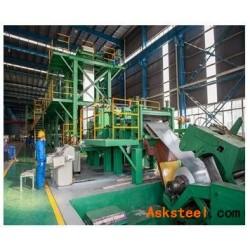 工厂供应新大中绿色耐指纹镀铝锌,有色镀铝锌