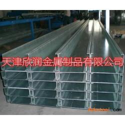 天津镀锌C型钢檩条图片