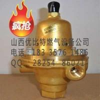 山西压缩天然气1301F-3减压器1301F-3美国调压阀价