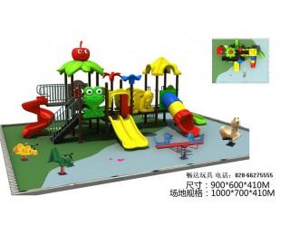 四川儿童滑梯厂家,成都户外大型滑梯,儿童游乐组合滑滑梯价格