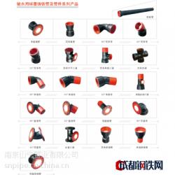 輸水用球墨鑄鐵管及管件系列產品圖片
