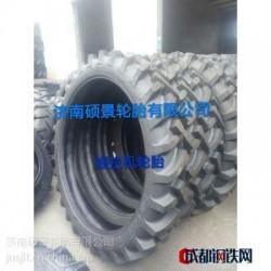 供应玲珑牌12层级 拖拉机车轮胎15.5-38人子花纹轮胎