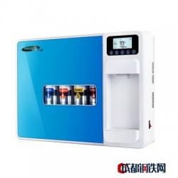美淳家用净水器加热一体机5级ro反渗透家用厨房直饮台式纯水机