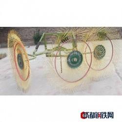 禹城天瑞机械供应六盘指盘式搂草机 9LZ-3.0 拖拉机悬挂圆盘搂草机