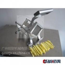 小型手动薯条机 商用瓜果切条器 新款不锈钢切土豆器带苹果刀