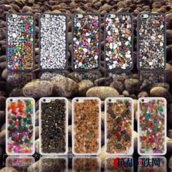 苹果Iphone6代按摩养生壳,二合一原生态特价6G新款手机保护套