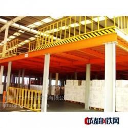 力进仓储-仓储钢结构平台_阁楼式钢结构平台_GJG01