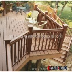 鑫盛塑木 优质环保木 工厂直销木塑户外地板 墙板