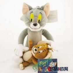 正版 欧美原单 猫和老鼠 Tom and jerry 毛绒玩具 公仔 卡通精品