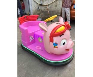 木羊人2017新款广场发光猪猪侠碰碰车