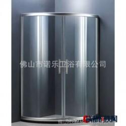 扇型沐浴房 定做工程淋浴房 定制楼盘沐浴房 钢化玻璃平安承保