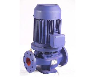 便拆立式管道泵/单级单吸管道泵 ISG40-160A 1.5KW上海众度泵业立式离心泵