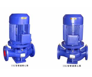 单级管道泵用途/单级管道泵型号 ISG40-250 7.5KW上海众度泵业立式离心泵