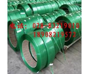 PET塑钢带|金堂简阳塑钢带|大邑彭州砖专用PET塑钢打包带1908/160820kg绿色