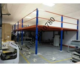 五層貨架順德工廠貨架組裝庫房倉儲閣樓貨架順德定做廠家圖片