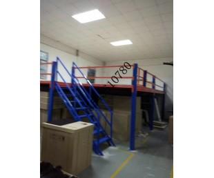 顺德阁楼平台重型货架佛山仓库工厂二层平台楼面可拆装