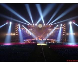 番禺舞台搭音响灯光演出设备出租  番禺铝合金舞台厂家拼装舞台简易舞台活动舞台