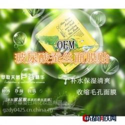 面膜OEM 玻尿酸蚕丝面膜代加工 水嫩玻尿酸面膜