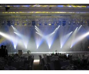 南沙舞台搭建音响灯光演出设备LED屏幕出租南沙铝合金舞台厂家拼装舞台
