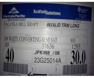 供应美国GP50g65g80g两面毛糙纸塑复合牛皮纸