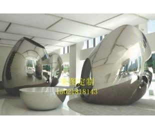 不锈钢镜面雕塑 订制